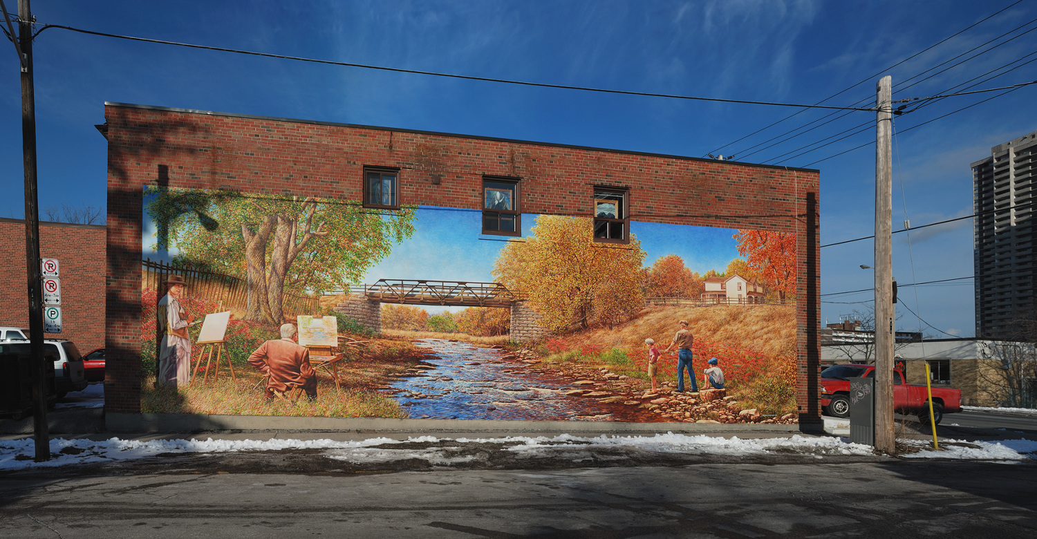 Commissioned by the historic village of islington bia in partnership with heritage etobicoke and the city of toronto toronto ontario
