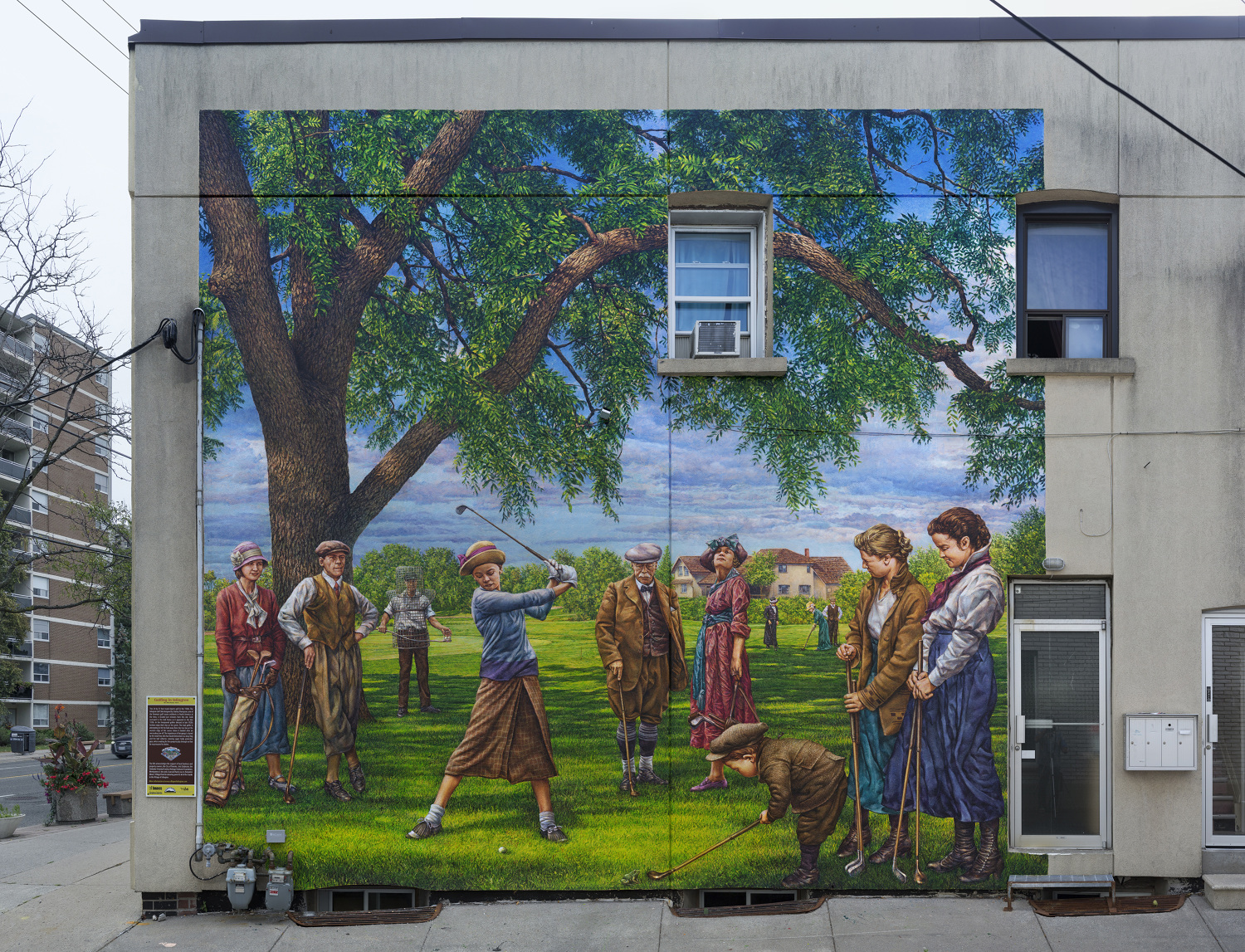 Public works john kuna murals commissioned by the historic village of islington bia in partnership with heritage etobicoke and the city of toronto toronto ontario amipublicfo Image collections